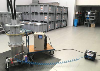 Product testing at VPI