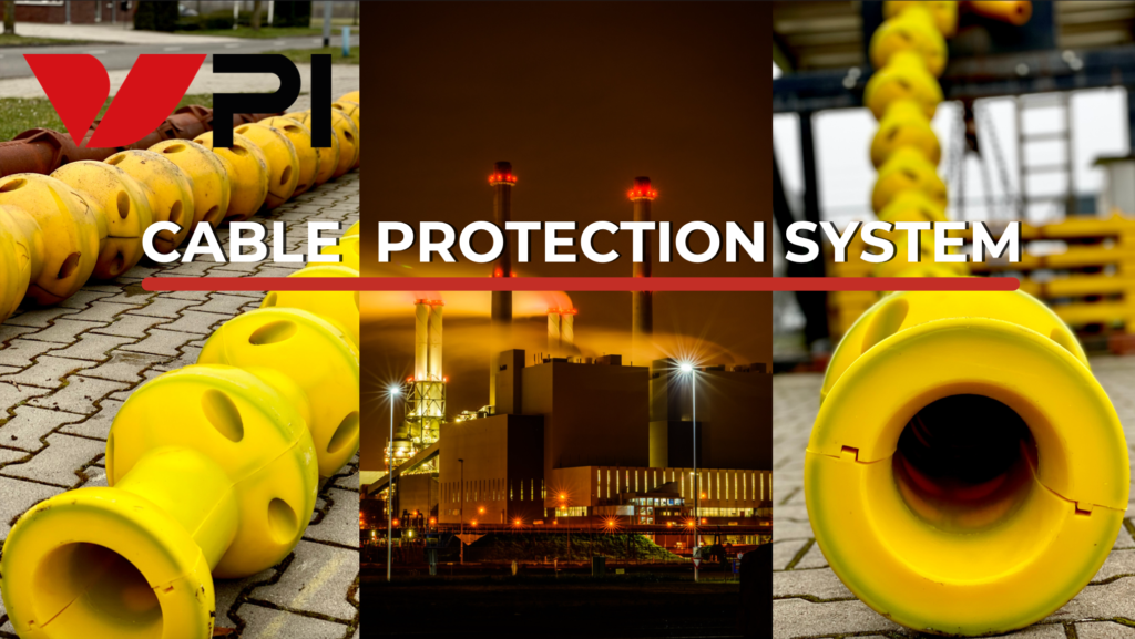 The renewed hybrid system reduces installation time by 50% and ensures every cable unharmed and intact on the bottom of the ocean. The conjunction of the polyurethane surface and the cast iron insert provide all the protection when your cable lies on the bottom of the sea. All of our products continuously undergo vigorous quality and conformity checks, and testing is performed extensively. VPI offer preliminary installation support as well as opportunities to attend 'training days', to experience first-hand the ease of assembly and installation for our product range.